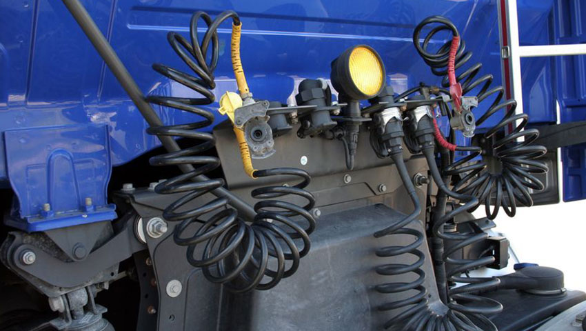Commercial Truck Driving Air Brake Test